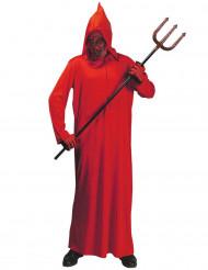 Röd demondräkt till Halloween för barn