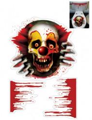 Tittut Clown - Toalettstickers till Halloween