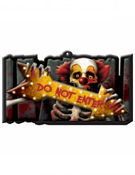 Kuslig cirkusskyl - Halloweendekoration