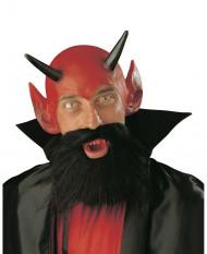 Hemskt djävulsset vuxen Halloween