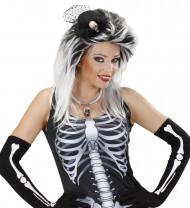 Döskalle minihatt vuxen Halloween