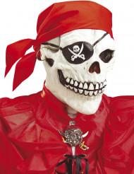 Piratskelett mask vuxen Halloween
