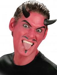 Svarta djävulshorn Halloween