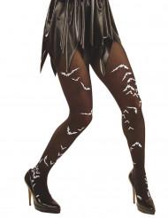 Strumpbyxor fladdermöss vuxen Halloween