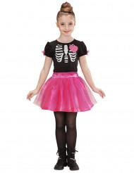 Hjärtligt Skelett - Halloweenkostym för barn
