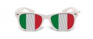 Roliga vita glasögon Italien
