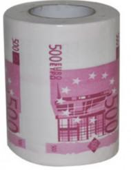Humoristiskt toapapper 500€
