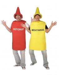 Senap och Ketchup - Pardräkt vuxna