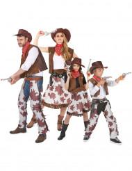Cowboy familjedräkt