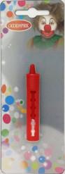 Röd utdragbar sminkpenna