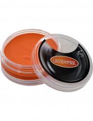 Orange vattenfärg