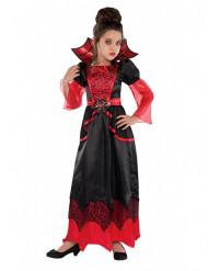 Blodröd vampyr - Halloweenkostym för barn