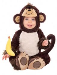 Apa med banan Maskeraddräkt Barn