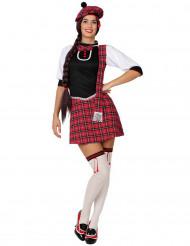 Kostym med skotsk inspiration dam
