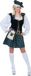 Skotskinspirerad kostym dam