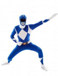 Blå Power Rangers™ - Morphsuits dräkt för vuxna