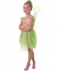 Tingeling™ klänning i grönt och rosa - Maskeradkläder för barn