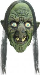 Häxan Hia Hia - 3/4 mask för vuxna till Halloween