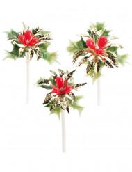 3 dekorationer för julskinkan
