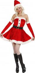 Baraxlad tomteklänning - Juldräkt för vuxna