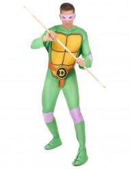 Donatello-dräkt för vuxna
