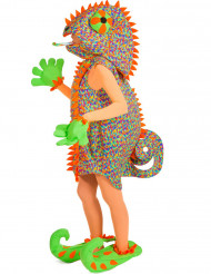 Maskeraddräkt kameleont vuxen
