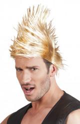 Blond punkperuk vuxen