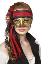 Venetiansk piratögonmask vuxen