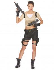 Soldatkvinna - utklädnad vuxen