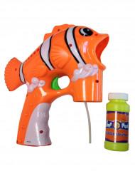 Clownfiskformad bubbelpistol i plast