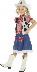 Maskeraddräkt cowgirl barn