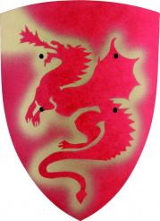 RödSköldmed drake för barn
