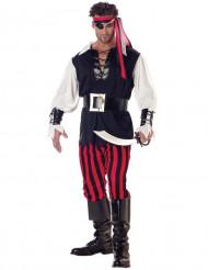 Mordisk pirat vuxendräkt