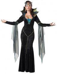 Ond magiker - Dräkt för vuxna till Halloween