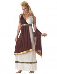 Romersk kvinnlig regent dräkt