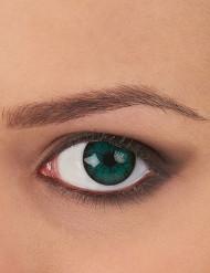 Kontaktlinser fantasi gröna och svarta vuxen