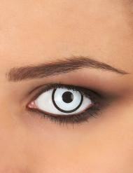 Kontaktlinser fantasi vita och svarta vuxen