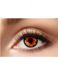 Kontaktlinser fantasi röda och svarta vuxen