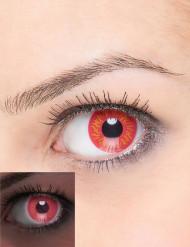 Kontaktlinser fantasi UV eld vuxen