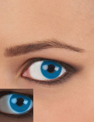 Kontaktlinser UV blå vuxen