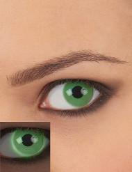 Kontaktlinser UV grön vuxen