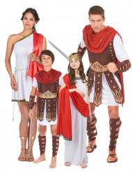Forntida romersk familj - Gruppdräkt för vuxna och barn