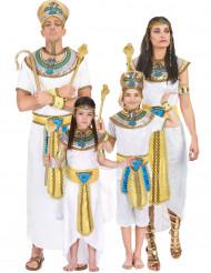 Egyptisk familj gruppdräkt
