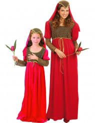 Adelsdräkter för mor och dotter