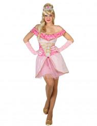 Flörtig prinsessa i rosa - Maskeraddräkt för vuxna 0224f24669d0e
