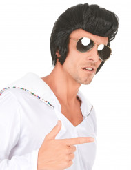 Hound dog - Rockstjärneperuk för vuxna