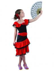 Flamencodräkt för barn till maskeraden