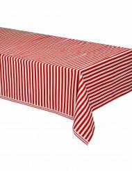 Duk med röda och vita ränder 137 x 274 cm