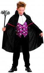 Stilig vampyrdräkt för barn till Halloween