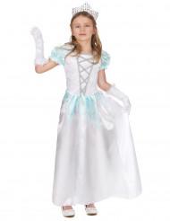 Vit prinsessdräkt